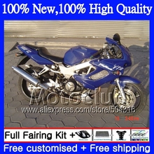 decal+ALL Blue For HONDA VTR1000F SuperHawk 97-05 44C23 VTR 1000 F Glossy blue VTR 1000F 97 98 99 00 01 02 03 04 05 Fairing(China)