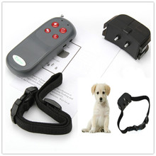 New Portable No Harm Electric 4 in 1 Remote Control Small Medium Large Dog Training Shock Vibrate Collar Anti Bark