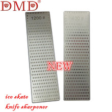 1PC DMD Double sided Diamond Whetstone for ice skate ceramic knife sharpener grit 400 1200 free shipping(China)
