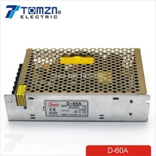 D 60W A Dual output 5V 12V Switching power supply AC to DC DC4A DC3A(China)