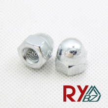 M4/M5/M6/M8/M10/M12/M16   Hexagon domed cap nuts Acorn Nuts Dome Head hex Nuts Decorate nuts  Carbon steel DIN1587