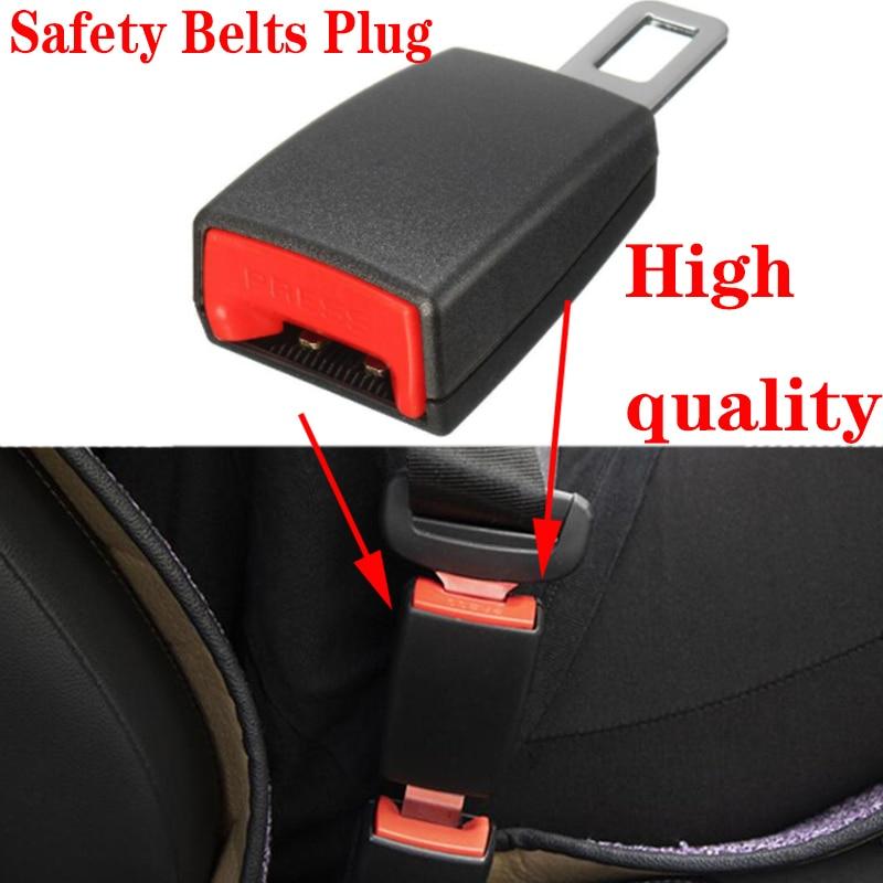 1 Pair 21mm 7//8 Universal Auto Car Seat Belt Buckle Clip Extender Car Socket Safety Belt Buckles Extender Extension Accessories