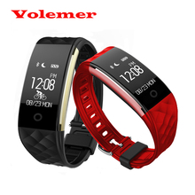 Promotion Hot Bluetooth Smart Band S2 Smart Wristband Bracelet Heart Rate Pedometer Sleep Fitness Tracker for Android IOS Phones(China)