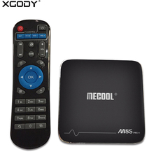 XGODY M8S PRO 2GB 16GB Smart TV Box Android 7.1 Amlogic S905X Quad Core Wifi 4K Kodi 17.1 Media Player TV Streaming Box Netflix(China)