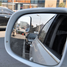 Car Rearview Mirror Safety Blind Spot Mirror 360 Degree Adjustable Wide Angle