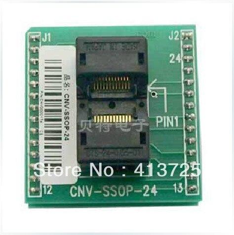 Import General SSOP24 DIP24 burning seat CNV-SSOP-24 test SOP14/16/20<br>