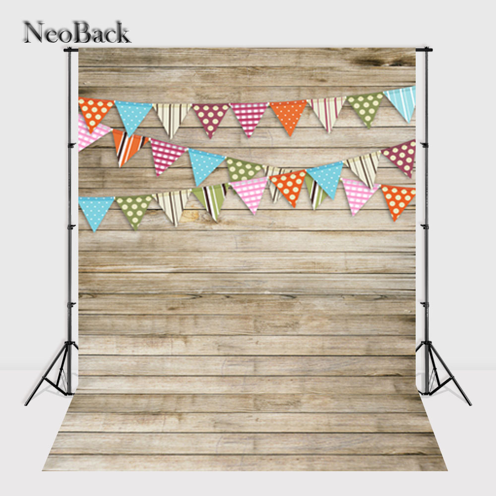 NeoBack 5x7ft Premium Fabric Foldable Washable Durable Seamless Studio Photo Backgrounds Children Floral Photo Backdrop 57TP0611<br>