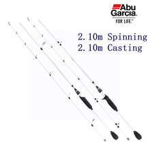 "Abu Brand 7' M Action Spinning and 6'9"" MH Action Casting Carbon Material Fishing Rod"