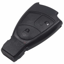 Rreplacements 3 Buttons Remote Key Fob Case Cover For Mercedes For Benz B C E ML S CLK CL Vito 639 3BT With L0G0