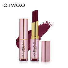 O.TWO.O Brand  Beauty Makeup Matte Lipstick red Colors Best Seller Long Lasting waterproof Lips Mate   Lipstick Cosmetics