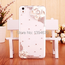 Shiny Bling Crystal Diamond Sliver White flower phone Case Cover For Samsung Galaxy S S3 S4 S5 Mini Note 2 3 4 Grand Duos I9082