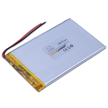 355590 3.7V 1600mAh li-Polymer Li-ion Rechargeable Battery For GPS PSP ipod Tablet PC iPAQ E-book Power bank MID DIY 035590(China)