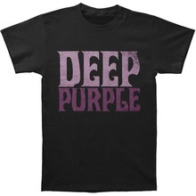 New 2017 Fashion Gildan Graphic O-Neck Deep Purple Vintage Short-Sleeve Mens T Shirts