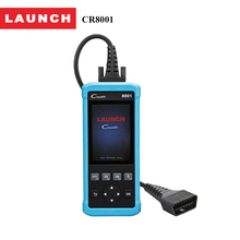 Launch official store code creader 8001 full obd2 function scanner analyzers airbag oil rest auto diagnostic tool for BMW/BENZ(China)