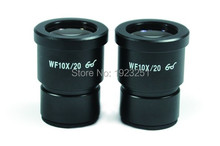 Free shipping ,Dia 30mm,Super Wide field WF10x -20mm Microscope Eyepiece For Stereo Microscopes with 30mm Mounting , 1 pair