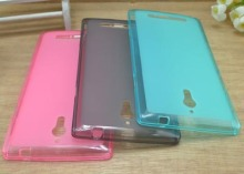 Wholesale Cover TPU Soft Silicone Case For OPPO Find 7 X9007 X9077 Cell Phones Bag Candy Jelly Color (Gift Touch Pen)