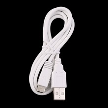 1M USB Power Cords & Extension Cords Cable For Nintendo Wii U Gamepad Power Cord(China)