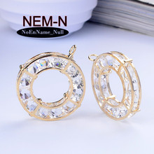 4pcs NEM-N 5x32mm New God instrument Master Weapons charms gold charm Ring pendants fits European bracelets jewelry making