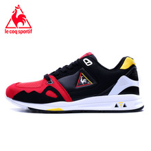 Le Coq Sportif Breathable Cushioning Men Running Shoes Cow Leather Sport Shoes Outdoor Jogging Athletic Footwear Light Sneakers