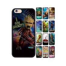 Groot Case For iphone 4/4s 5/5s/se 6/6s 7 6/7 plus 6s plus TPUPC Guardians of the Galaxy Phone Cover for Ipod Touch 5/6th Case
