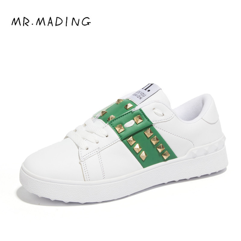 MR.MADING Couple Shoes Spring 2017 New Fashion Unisex Shoes Famous Designer Retro Full Grain Leather Men Casual Flat with Shoes<br><br>Aliexpress