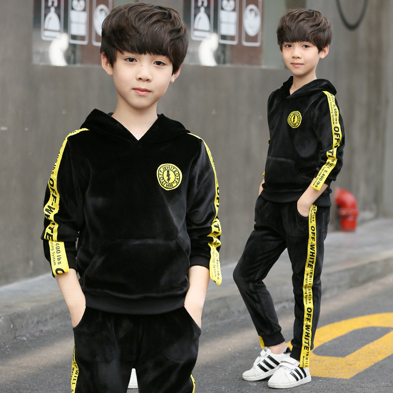 2017 New Sports Suit for a Boy Kids Clothes Tracksuits Costume Overalls Children Winter Costumes Baby Toddler Boys Clothing<br>