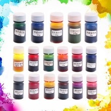 10g Resin Pigment Dye Mix Colors Liquid DIY Art Craft Colorant For Silicone Mold(China)