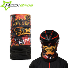 Rockbros Cycling  The Cold Face Shield Mask Winter Scarf From Wind Mask Thermal Magic Bicycle Equipment Sports Headwear Headband