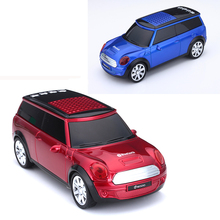 Mini SUV Car Wireless Bluetooth Speaker For phone Computer PC Xiaomi Portable FM Radio Subwoofer Bluetooth Receiver Sound box