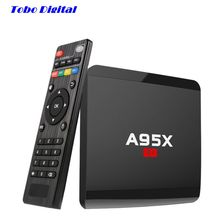 A95X R1 Rockchip RK3229 SET TOP BOX 2017 New Android 6.0 1GB 8GB Smart TV Box HD 2.0 4Kx2K HD KODI 16.1 WiFi DLNA Media Player