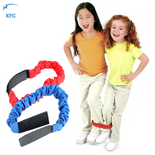 XFC Two People Three-legged Ropes Tied Children Cooperation Outdoor Training Toys Kid Running Race Game Xmas Christmas Gift(China)