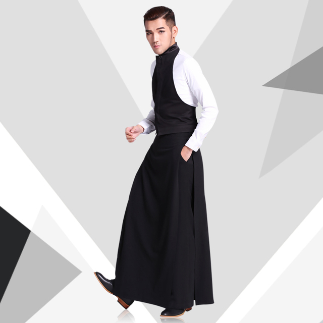 Hot 2017 Tide Men S Spring Fashion Clothing Trousers Casual Pants Work Wear Set Hairstylist Culottes