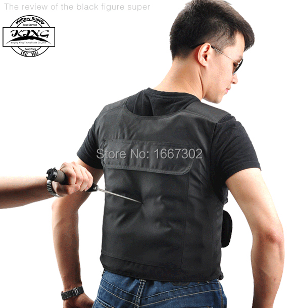 Stabproof Vest Hard Panels Stab Proof Vest knife protective Anti stab proof Vest(China)