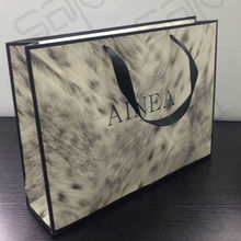 Widely Large Paper Bags for Gifts Business Used Paper Bag Glossy Laminated Paper Gift Bag (SAP-CPB005)