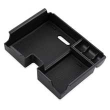 Car Armrest Box Central Secondary Storage Glove Phone Holder Container Organizer Case For Land Range Rover Evoque 2009-2016