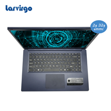 1920X1080P screen windows 10 system 15.6 inch slim laptop 2G ram 32GB EMMC built in bluetooth camera pc