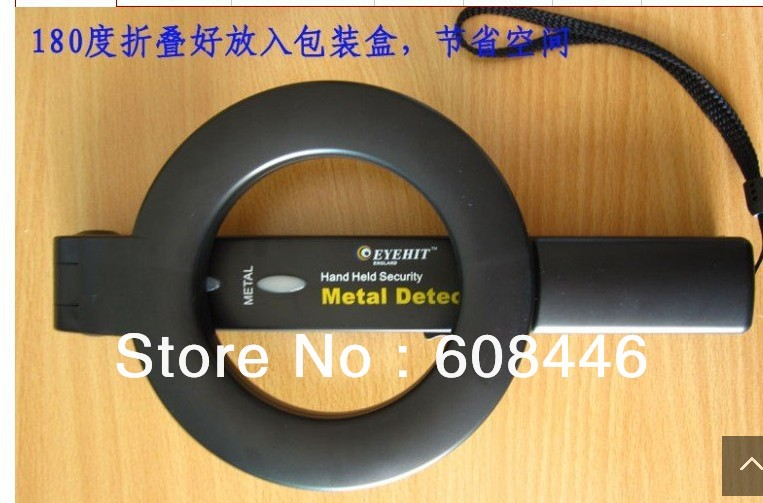 Metal detectors Guard Security Wand MD-228V handheld Security foldable tool<br>