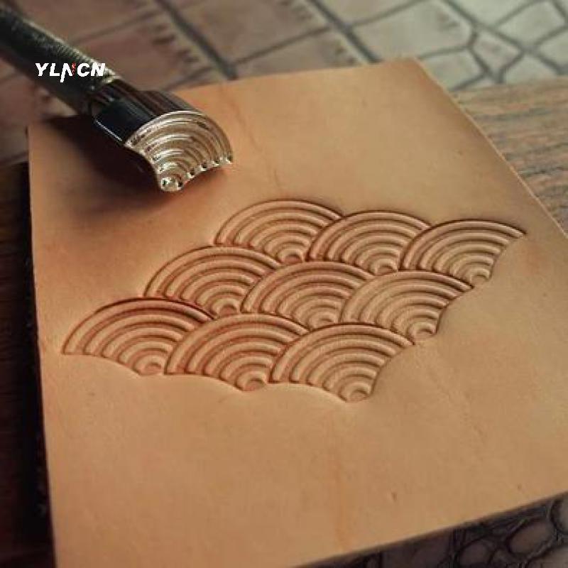 Metal DIY Craft Stamping Leather Working Carving Printinting Staming