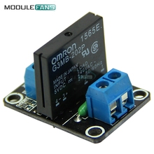 G3MB-202P 5V DC 1 Channel Solid-State Relay Board Module For Arduino High Level Fuse For Arduino SSR G3MB-202P