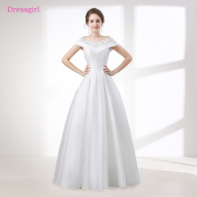 Buy Plus Size Vestido De Noiva 2018 Wedding Dresses A-line V-neck Cap Sleeves Lace Boho Cheap Wedding Gown Bridal Dresses for $102.83 in AliExpress store