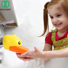 Buy WHISM Cartoon Toddler Water Tap Faucet Extender Kids Kitchen Children Hand Washing Device Water Saving Bathroom Accessories for $2.49 in AliExpress store