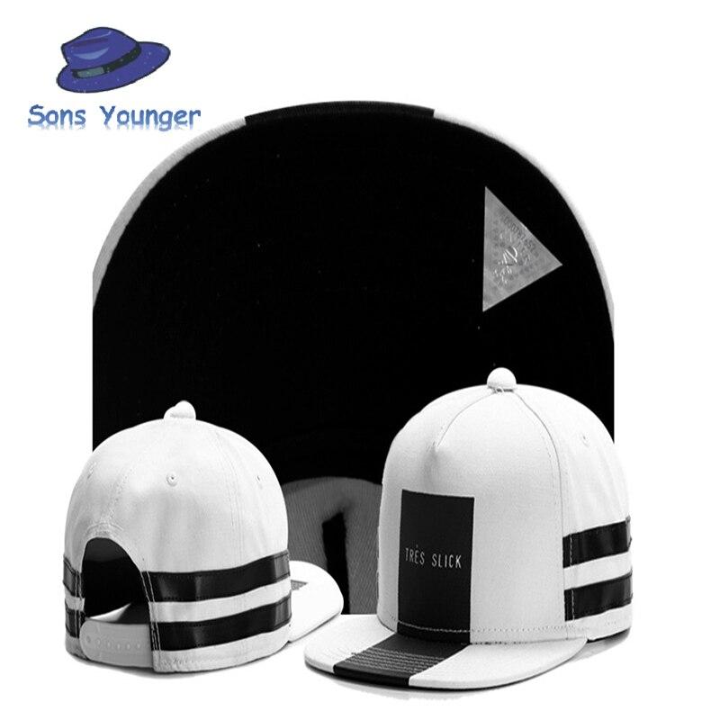 Brand C&amp;S Tres Slick Cap Black Stripe White Snapback Hat For Men Women Adult Sports Hip Hop Street Outdoor Sun Baseball Cap<br><br>Aliexpress