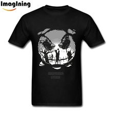 MEIL Unique Design The Nightmare Before Christmas Romantic Jack Skellington and Sally T Shirts Great Cotton For Man Fashion Tee(China)