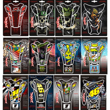 3D Motorcycle Fish Bone Sticker Gas Fuel Tank Protector Pad Cover Decal 46 Rossi VR46 The Doctor For Honda Harley Yamaha Suzuki