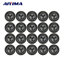 AIYIMA 20pcs 1Inch 28MM Mini Audio Portable Speakers 1W 8Ohm Earphones Speaker Louderspeaker For Mobile Portable DVD / EVD(China)