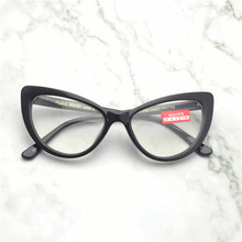 MINCL /2018 new acetate women progressive multi-focus reading glasses retro fashion cat eyes reading glasses with box FML(China)