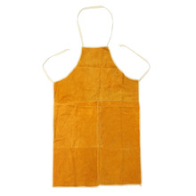 Leather Welding Apron Gardening Work Protective Clothing Carpenter Blacksmith Protective Clothing Fire-Retardant Insulation