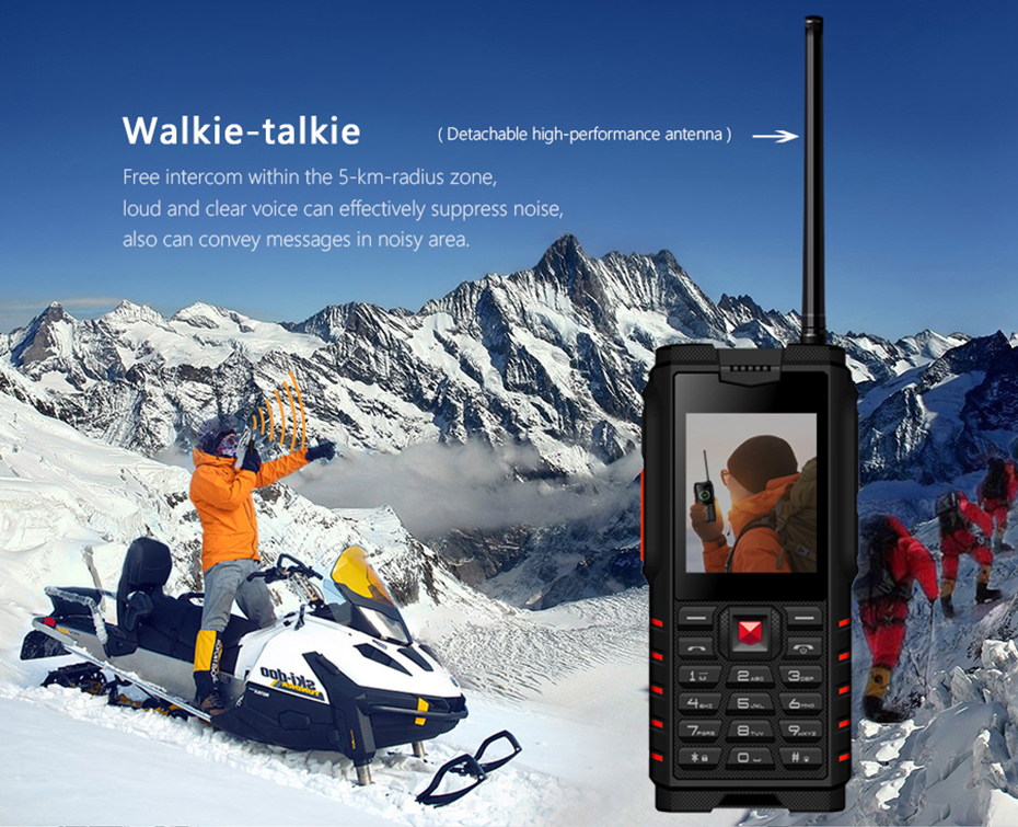 Walkie talkie mobile phone (3)