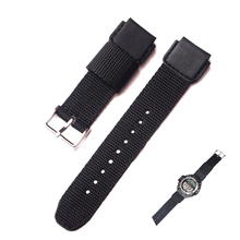 19mm replacement watch band Strap for CASIO SGW-300/400 /AQ-S810 Driving Sport nylon Watchband(China)