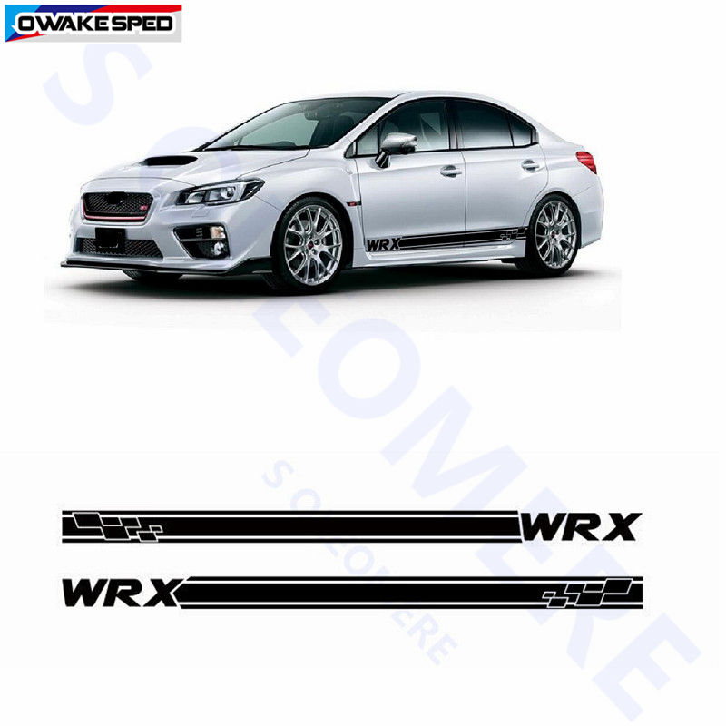 STI Logo Graphics Vinyl Decals Custom Sticker 1P For SUBARU Forester WRX STI WRC